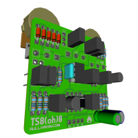TS808 3D ISOL components