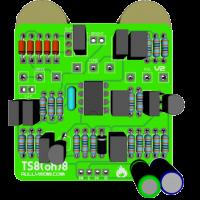 TS808 Top 3D components