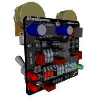 GlassHammer 3D components iso L