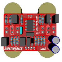 ScratchTrack PCB components front