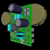 Serpent PCB 3D components3