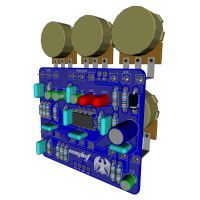 Eaglet 3D RS with components