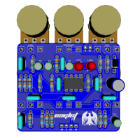 Eaglet 3D Top with components