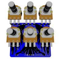 Eaglet 3D bottom with components