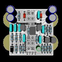 PrincessRawr 3D Top with components