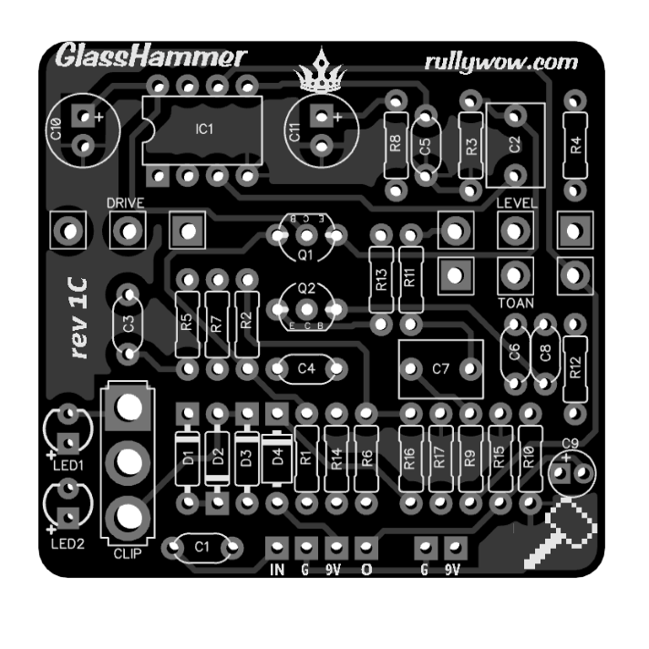 GlassHammer 3D no components