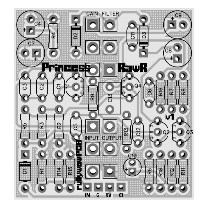 PrincessRawr 3D Top no components