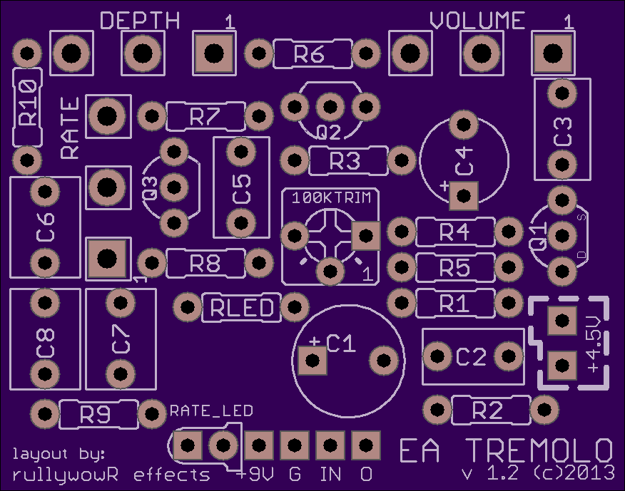 Free DIY Projects – Rullywow DIY Guitar Pedal PCB Store